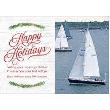 Holiday Greeting Card Model 3 (50 Cards)
