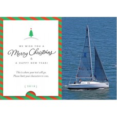 Holiday Greeting Card Model 4 (50 Cards)